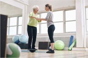 Physical therapy for balance disorders