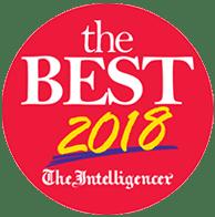 best 2018 badge
